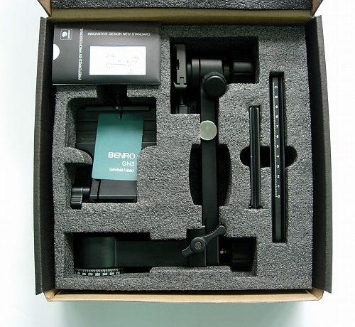 ベンロ GH-3製品パッケージ