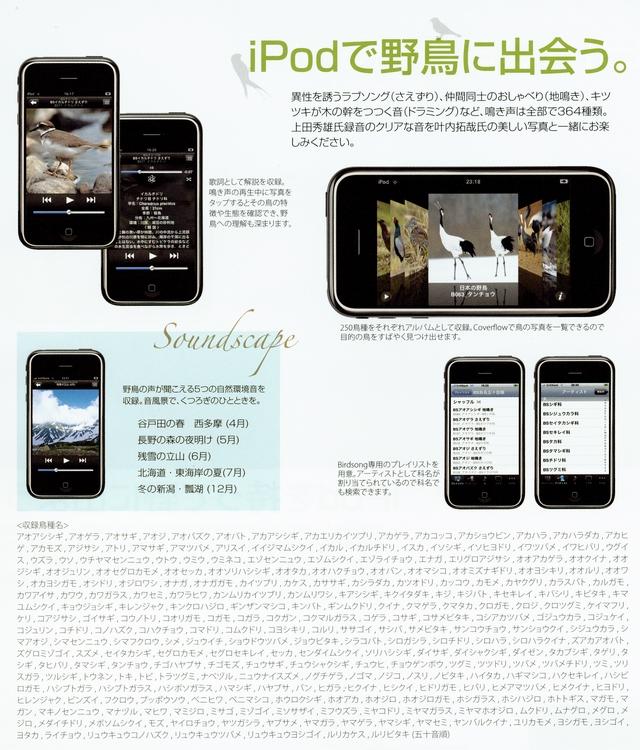ipod商品チラシ